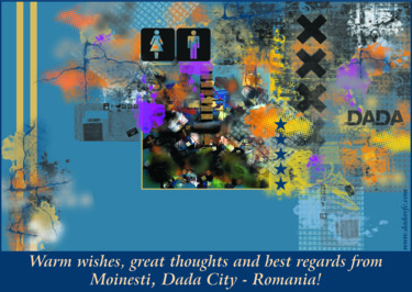 Warm wishes from Moinesti